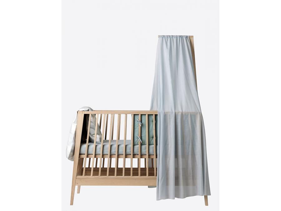 leander voile de lit bleu pour lit b b linea. Black Bedroom Furniture Sets. Home Design Ideas