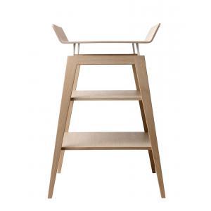 Leander - 600304 - Table à langer Linea avec matelas, Chêne (342200)