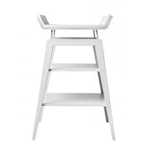 Leander - 502684 - Table à langer Linea avec matelas, Blanc (342204)