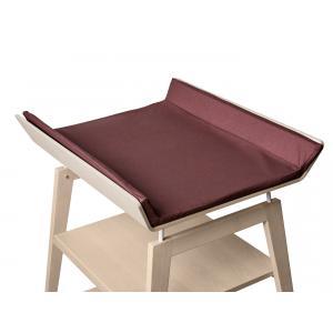 Leander - 502080 - Housse matelas à langer, Prune pour table à langer Linea (342214)