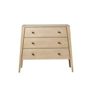 Leander - 700063-box1 - Commode 3 Tiroirs Linea, Chêne Box 1 (342220)