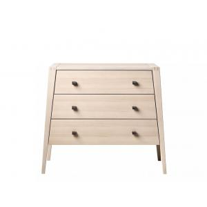 Leander - 700063-05_box1 - Commode 3 Tiroirs Linea, Hêtre  Box 1 (342224)
