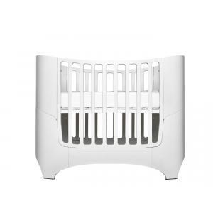 Leander - BU2 - Lit bébé évolutif Blanc COMFORT+7 (342232)