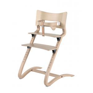 Leander - BU30 - Chaise haute evolutive et  Arceau de sécurité Cérusé (342288)
