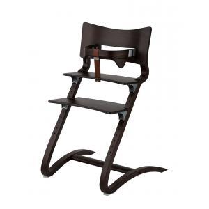 Leander - BU33 - Chaise haute evolutive et  Arceau de sécurité Noyer (342294)
