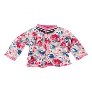 Gotz - 3402794 - Veste tricotée, Roses pour bébés de 30-33cm (342370)