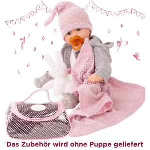 Gotz - 3402832 - Ensemble bébé, cosy rabbit, 10-pièces (342438)