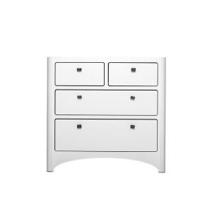 Leander - S60234 - Commode 4 Tiroirs Blanche (342568)
