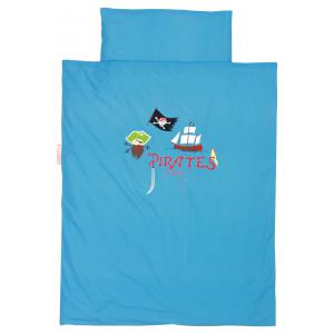 Taftan - DM-272 - Housse de couette pirates blue 120 x 150 (342648)
