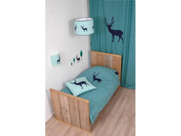 taftan housse de couette blue deer blue green 120 x 150. Black Bedroom Furniture Sets. Home Design Ideas