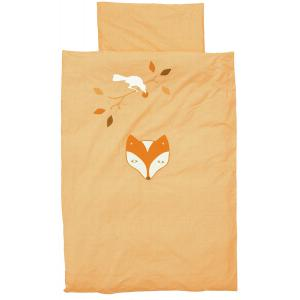 Taftan - DL-524 - Housse de couette fox and raven orange 140 x 200 (342732)