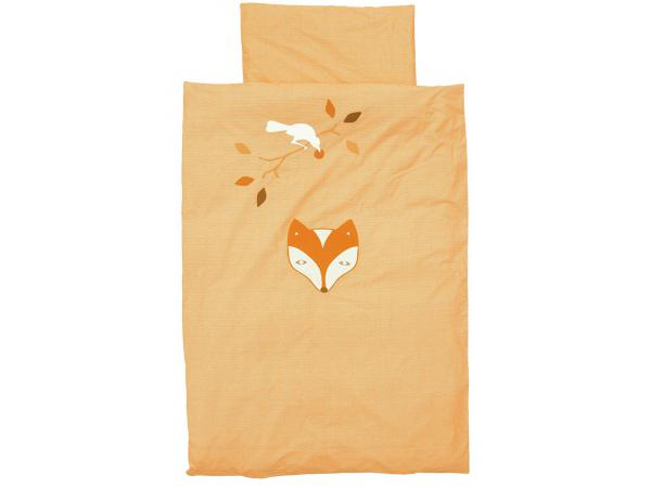 Housse de couette fox and raven orange 140 x 200