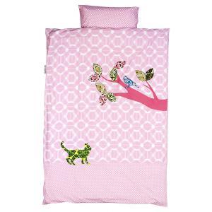 Taftan - DL-411 - Housse de couette inke&taftan birds pink 140 x 200 (342800)
