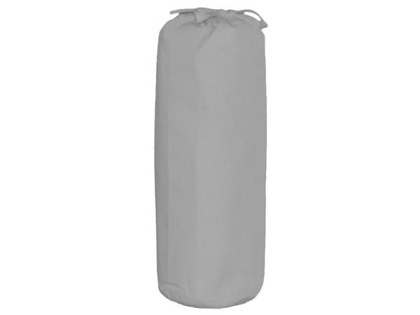 Drap housse solid grey 90 x 200