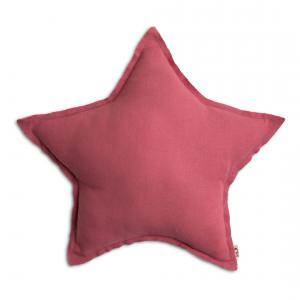 Numéro 74 - 78550 - Coussin Etoile rose (343938)