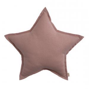 Numéro 74 - 65482 - Coussin Etoile Paillete Rose poudré S (25 cm) (343940)