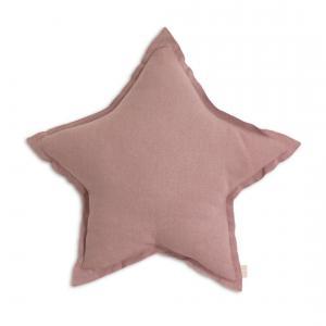 Numéro 74 - 61484 - Coussin Etoile coton pastel Vieu M (45 cm) (343942)