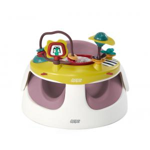 Mamas and Papas - 4126AM600 - Premier siège Baby snug et plateau d'activité rose (345572)