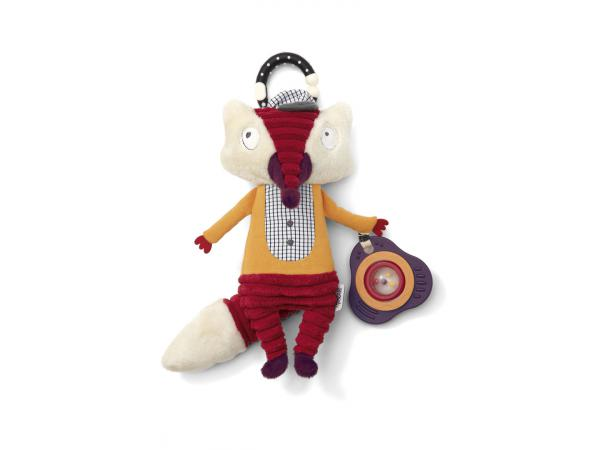 Activity toy - red fox babyplay