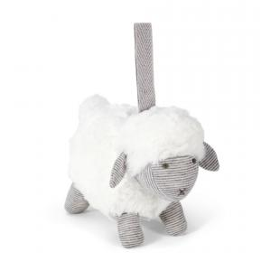 Mamas and Papas - 485535010 - Soft Toy - Chime Sheep Grey Welcome To The World (346498)
