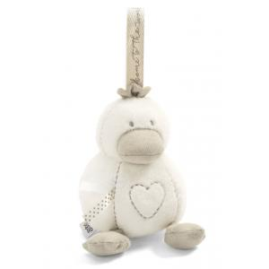 Mamas and Papas - 4855B1100 - Soft Toy - WTTW Chime Duck Neutral (346504)