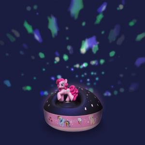 Trousselier - 5234 - Veilleuse - Projecteur d'Etoiles Musical My Little Pony© 12 Cm - Pinkie Pie - Piles Inclues (346714)