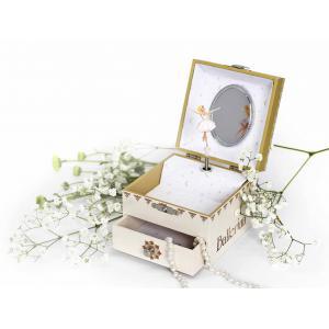 Trousselier - S20111 - Boite à Musique Cube Phosphorescent Ballerina© (346718)