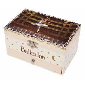 Trousselier - S60111 - Boite à Bijoux Musicale Phosphorescente Ballerina© (346724)