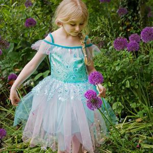 Travis - AQF3 - Costume Aqua Fairy aqua/blue/pink - 3 à 5 ans (347010)