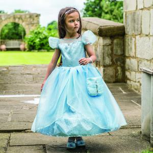 Travis - BLS3 - Costume Blue Shimmer Princess blue/silver - 3 à 5 ans (347076)