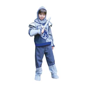 Travis - CKB6 - Costume Crusader Knight grey/blue - 6 à 8 ans (347110)