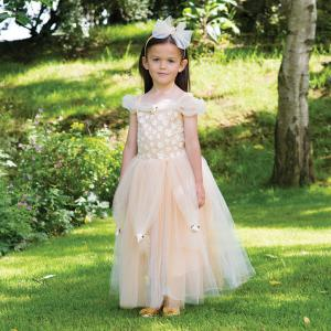 Travis - GOPR3 - Costume Golden Princess gold - 3 à 5 ans (347228)