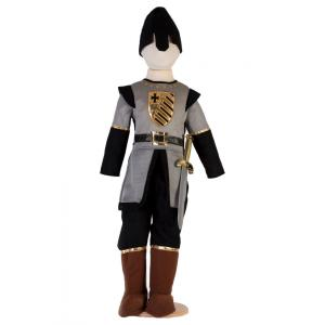 Travis - MS3 - Costume Medieval Soldier grey/black - 3 à 5 ans (347258)
