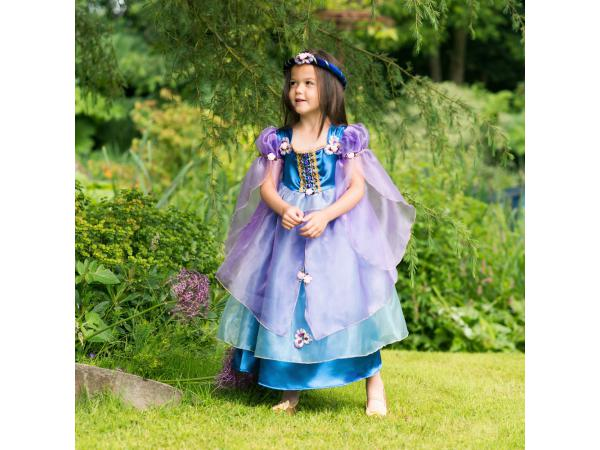 Costume orchid flower maiden purple/blue - 3 à 5 ans