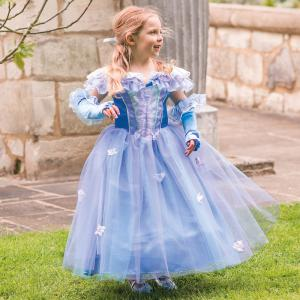 Travis - PRFL9 - Costume Princess Fleur blue/lilac - 9 à 11 ans (347326)