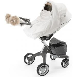 Stokke - 380402 - Habillage kit hiver Blanc nacré compatible avec Xplory®, Crusi™and Trailz™ (348602)