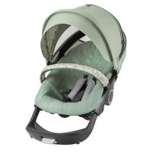 Stokke - 409609 - Habillage Kit été Flora Green compatible avec Xplory®, Crusi™and Trailz™ (348604)