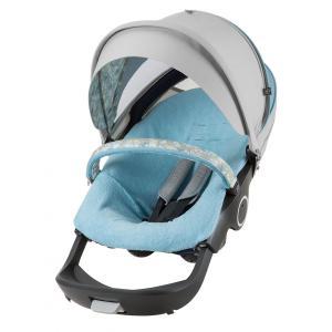 Stokke - 409608 - Habillage Kit été Flora bleu compatible avec Xplory®, Crusi™and Trailz™ (348606)