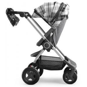 Stokke - 467902 - Habillage Hiver Flannel Gris pour poussette Scoot (348640)