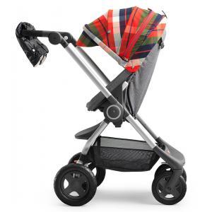 Stokke - 467901 - Habillage Hiver Flannel Rouge pour poussette Scoot (348642)