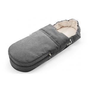 Stokke - 344501 - Sac de couchage Scoot(TM) Softbag Noir Melange (348656)