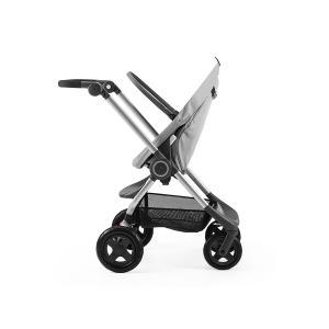 Stokke - 463403 - Chassis Gris Melange Stokke® Scoot(TM) (incl. Siege, moustiquaire et protection pluie) (348682)