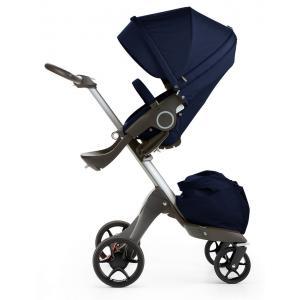 Stokke - 468107 - Poussette Stokke® Xplory® V5 Alu - couleur bleu profond (348790)