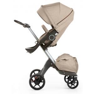 Stokke - 468105 - Poussette Stokke® Xplory® V5 Alu - couleur beige melange (348794)