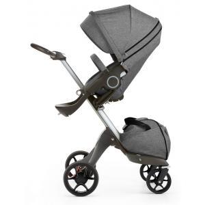 Stokke - 468104 - Poussette Stokke® Xplory® V5 Alu - couleur noir melange (348796)