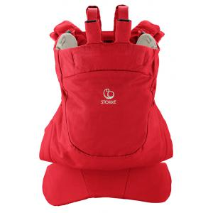 Stokke - 451505 - Porte bebe Stokke® MyCarrier(TM) position dorsale - couleur rouge (348806)