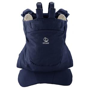 Stokke - 451502 - Porte bebe Stokke® MyCarrier(TM) position dorsale - couleur bleu profond (348812)