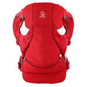 Stokke - 431605 - Porte bebe Stokke® MyCarrier(TM) position ventrale & dorsale - couleur rouge (348826)