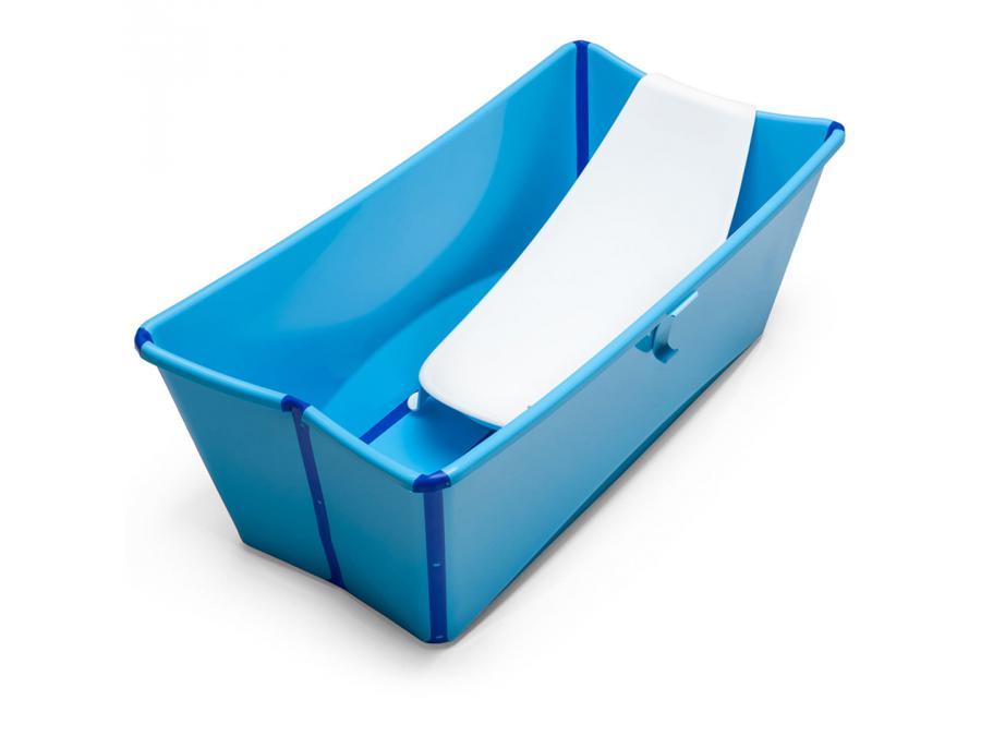 stokke baignoire pliante stokke flexibath bleu. Black Bedroom Furniture Sets. Home Design Ideas