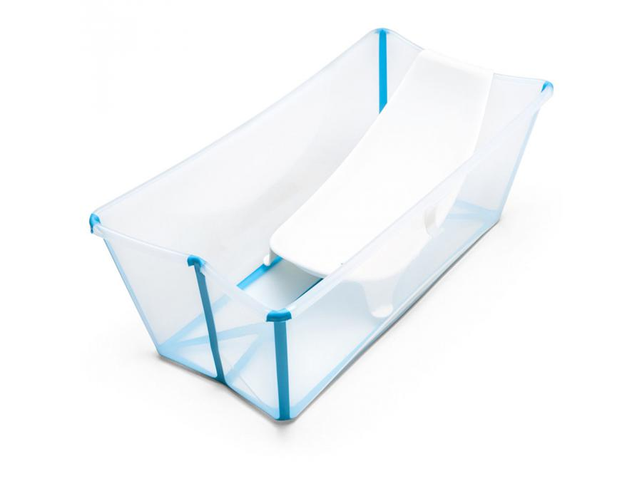stokke baignoire pliante stokke flexibath transparent. Black Bedroom Furniture Sets. Home Design Ideas